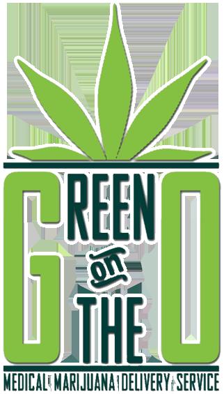 green on the go logo white stroke